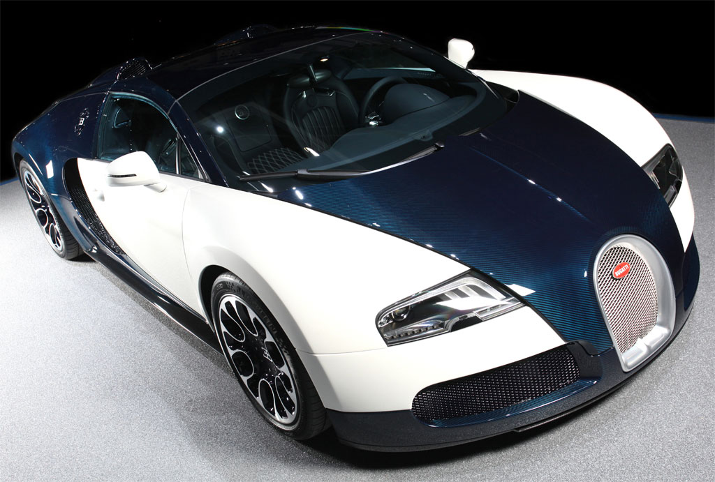 2010 geneva auto show bugatti veyron grand sport blue carbon autoevolution. Black Bedroom Furniture Sets. Home Design Ideas