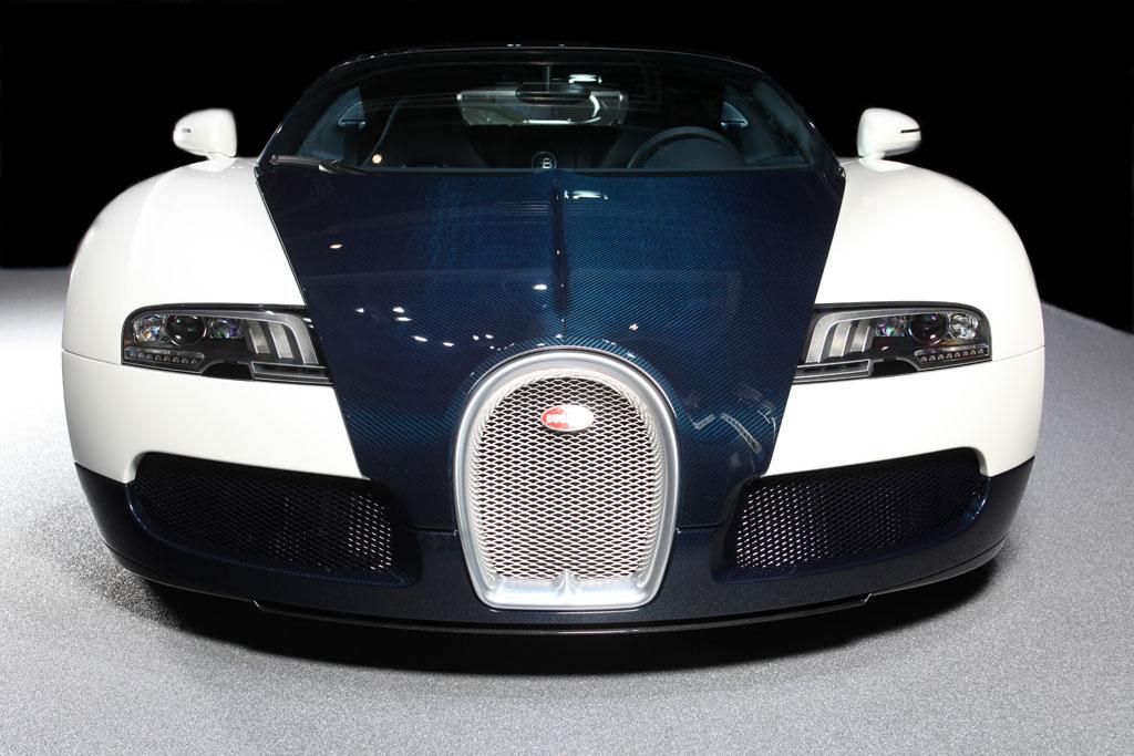2010 Geneva Auto Show Bugatti Veyron Grand Sport Blue