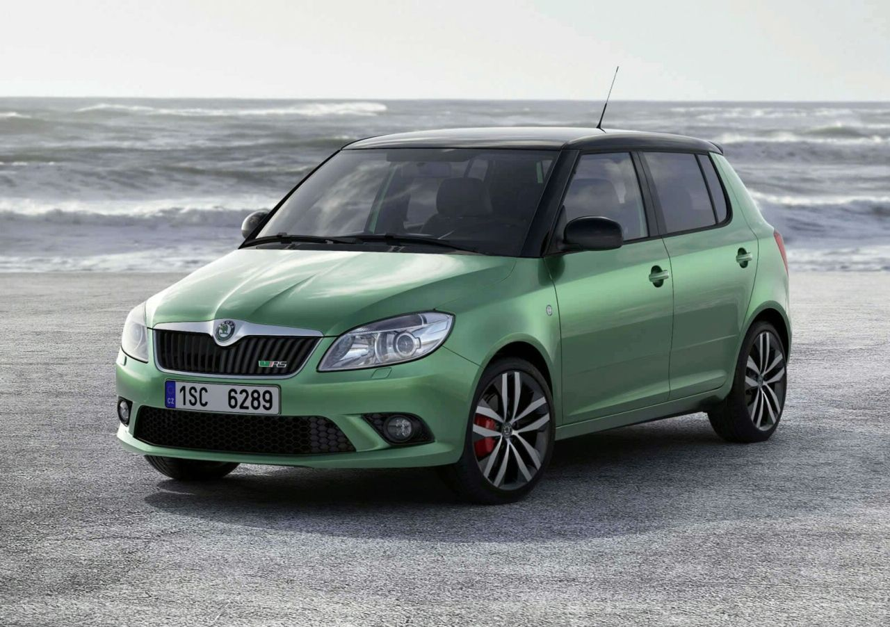 2010 geneva auto show skoda fabia vrs live photos autoevolution. Black Bedroom Furniture Sets. Home Design Ideas