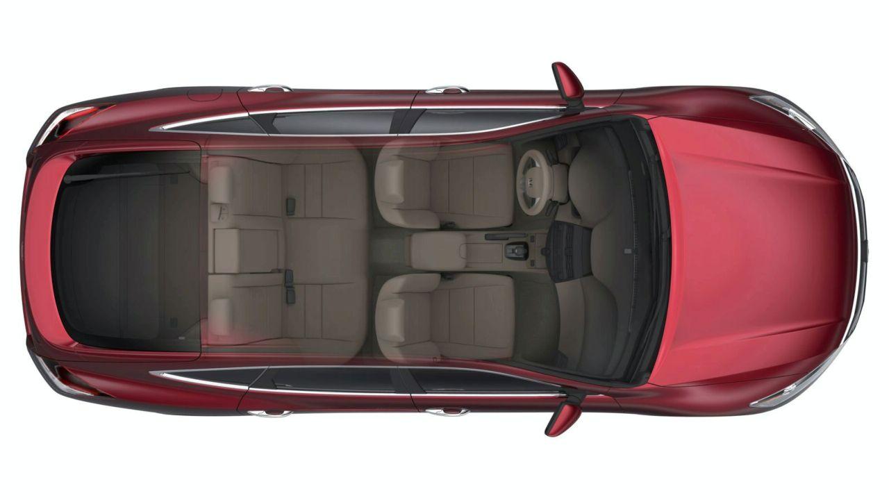 2010 Honda Crosstour Interior Pics Revealed - autoevolution