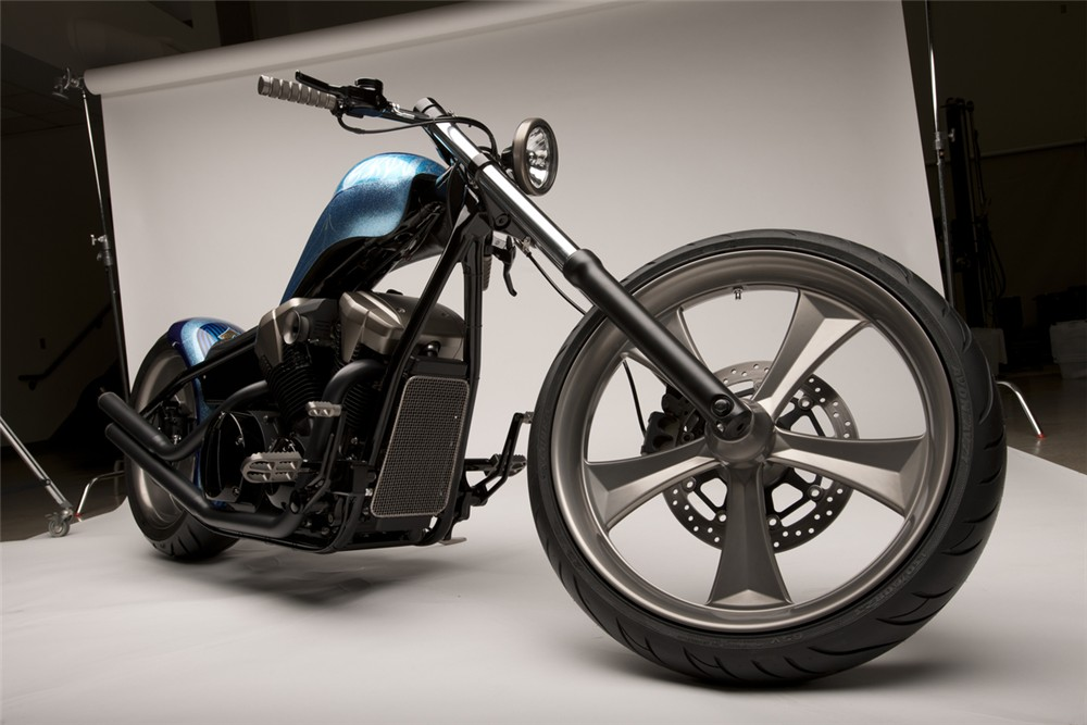 2010 Honda Fury Furious Hardtail Chopper Concept