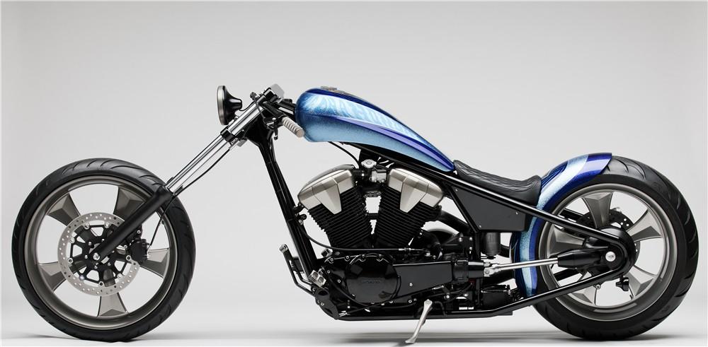 2010 Honda Fury Furious Hardtail Chopper Concept