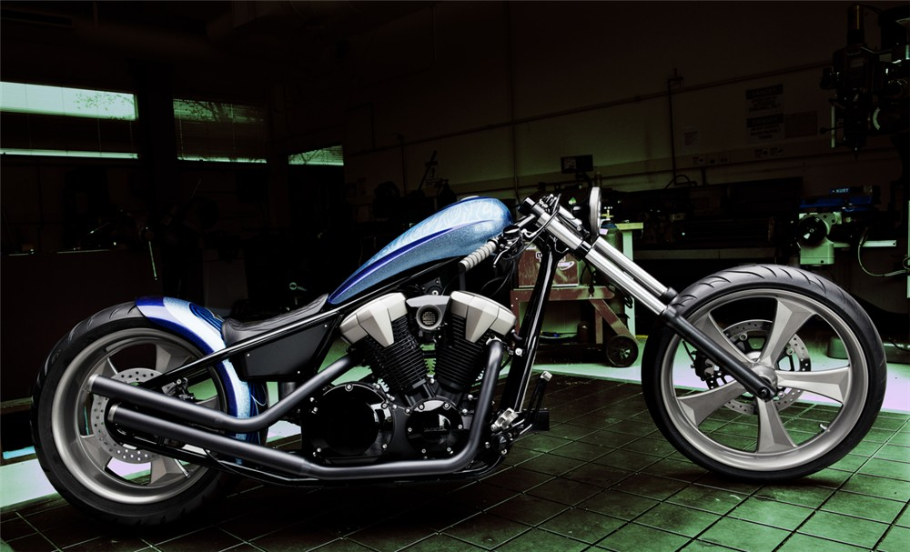 """Here's what Honda have to say about the 2010 Honda Fury """"Furious ..."""