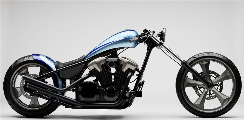 2010 Honda Fury Furious Hardtail Chopper Concept Autoevolution