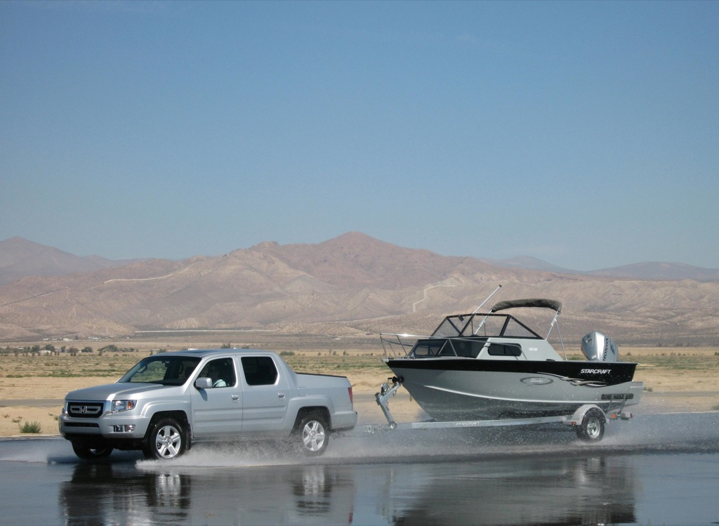 Image Result For Honda Ridgeline Towing A Boat