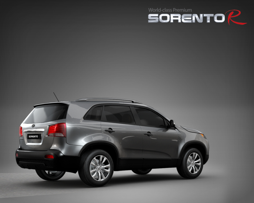 2010 kia sorento debuts in seoul autoevolution. Black Bedroom Furniture Sets. Home Design Ideas