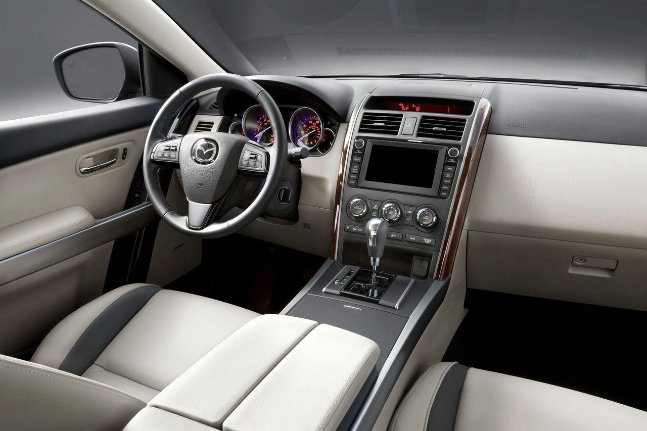 2010 Mazda Cx 9 Facelift Makes Debut In New York Autoevolution