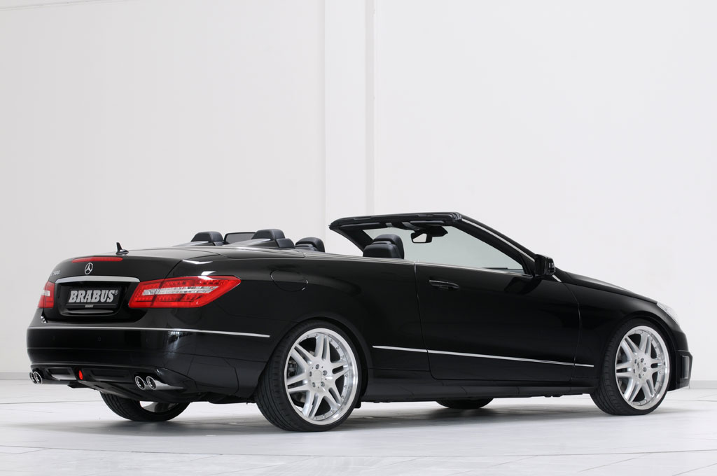 2010 mercedes e klasse cabrio by brabus autoevolution. Black Bedroom Furniture Sets. Home Design Ideas
