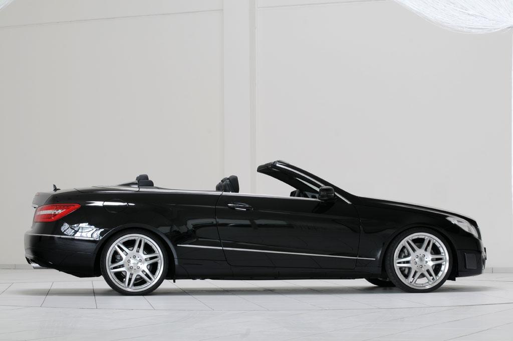 2010 mercedes e klasse cabrio by brabus autoevolution. Black Bedroom Furniture Sets. Home Design Ideas