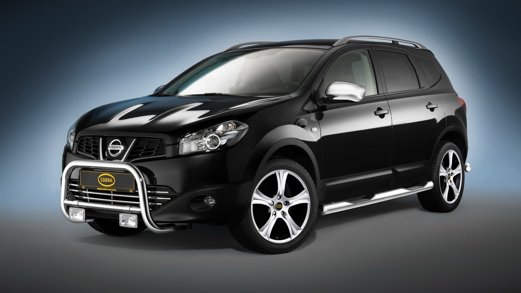 2010 nissan qashqai gets the cobra n touch autoevolution. Black Bedroom Furniture Sets. Home Design Ideas