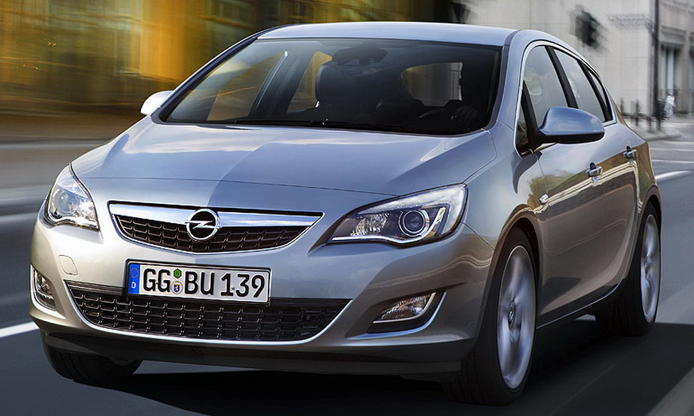 2010 opel astra rolled out autoevolution. Black Bedroom Furniture Sets. Home Design Ideas