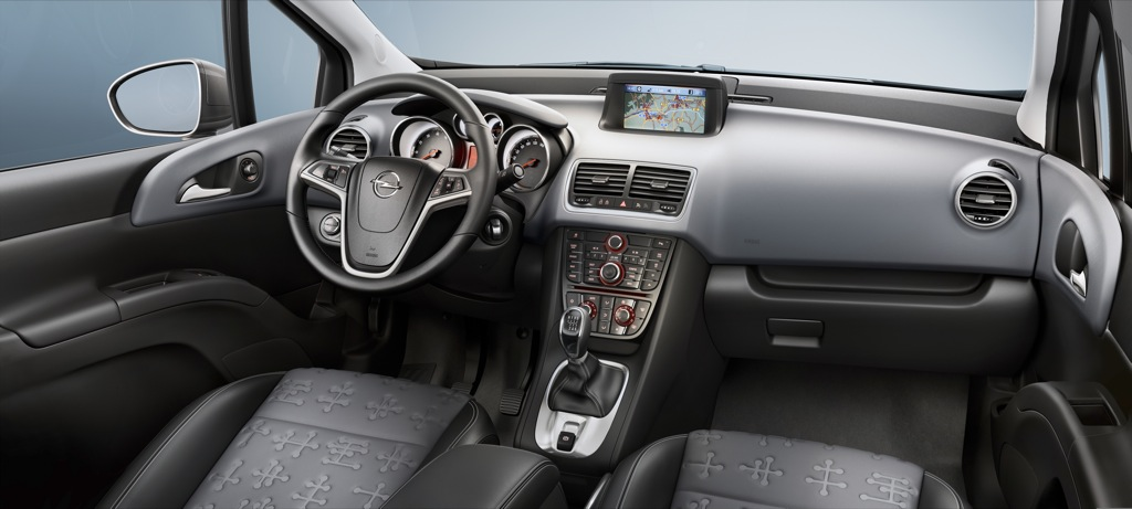 2010 Opel Meriva Interior Details and Photos - autoevolution