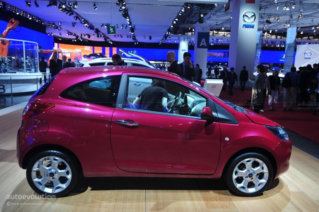 2010 Paris Auto Show Ford Ka Econetic Live Photos