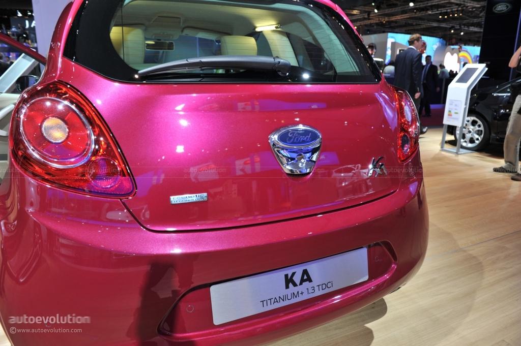 Ford Ka Econetic Ford Ka Econetic