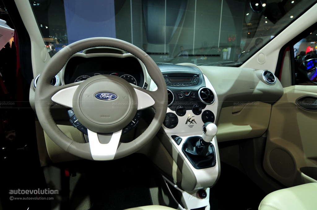 2010 Paris Auto Show Ford Ka Econetic Live Photos