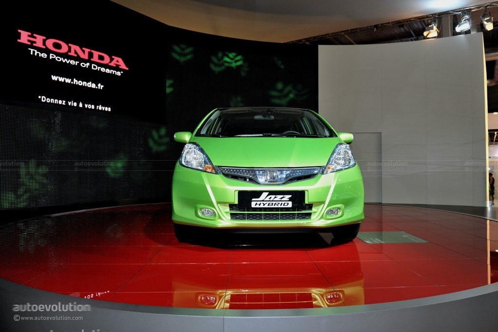 2010 Paris Auto Show Honda Jazz Hybrid Live Photos Autoevolution