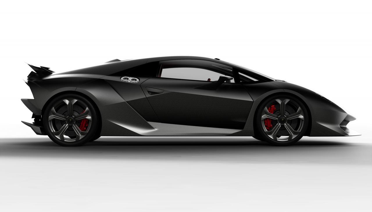 2010 Paris Auto Show Lamborghini Sixth Element Concept