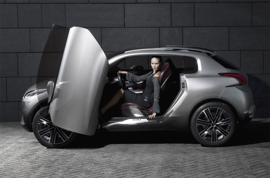 2010 paris auto show peugeot hr1 concept live photos autoevolution. Black Bedroom Furniture Sets. Home Design Ideas