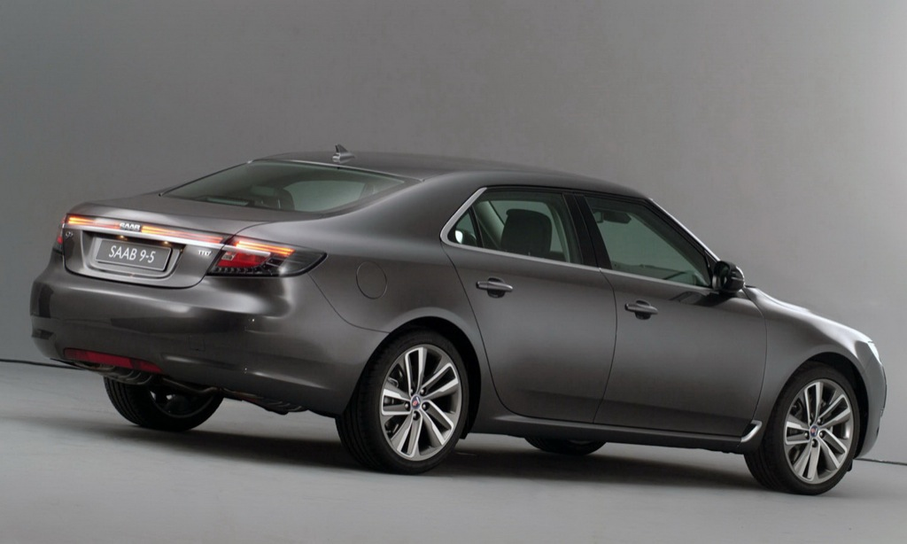 2010 saab 9 5 new official photos autoevolution. Black Bedroom Furniture Sets. Home Design Ideas