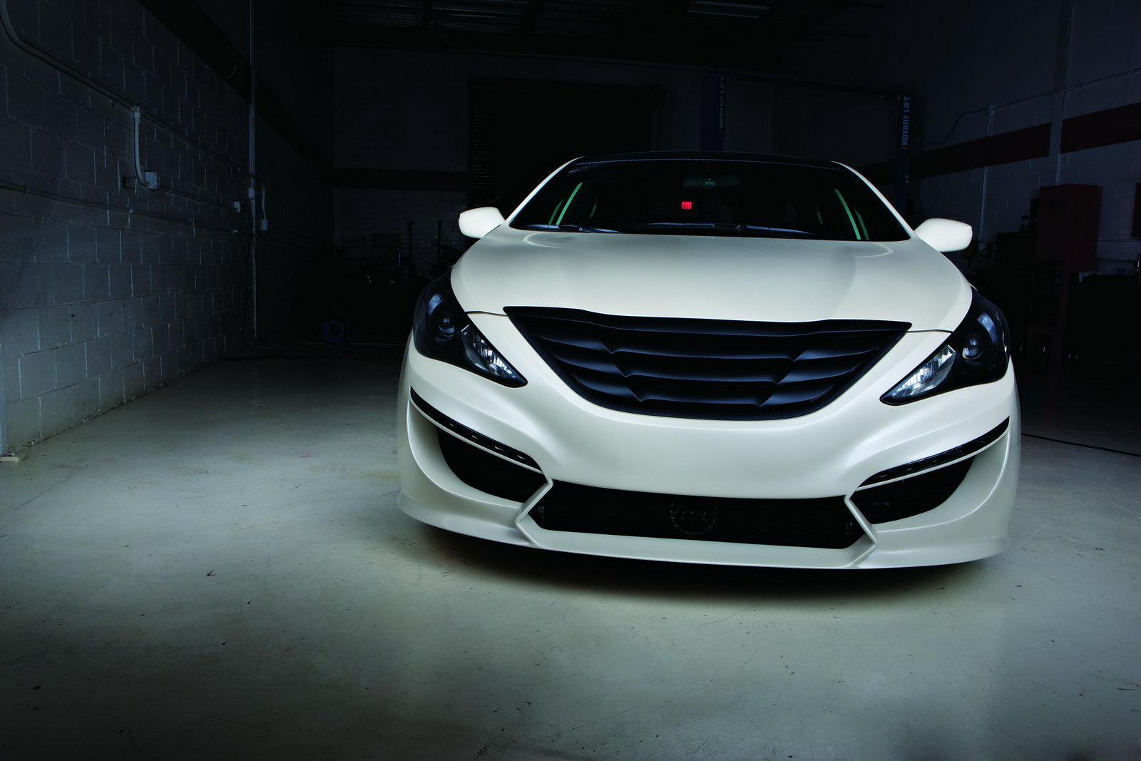 2010 Sema Custom Hyundai Sonata Turbo By Rides And 0 60 Magazines
