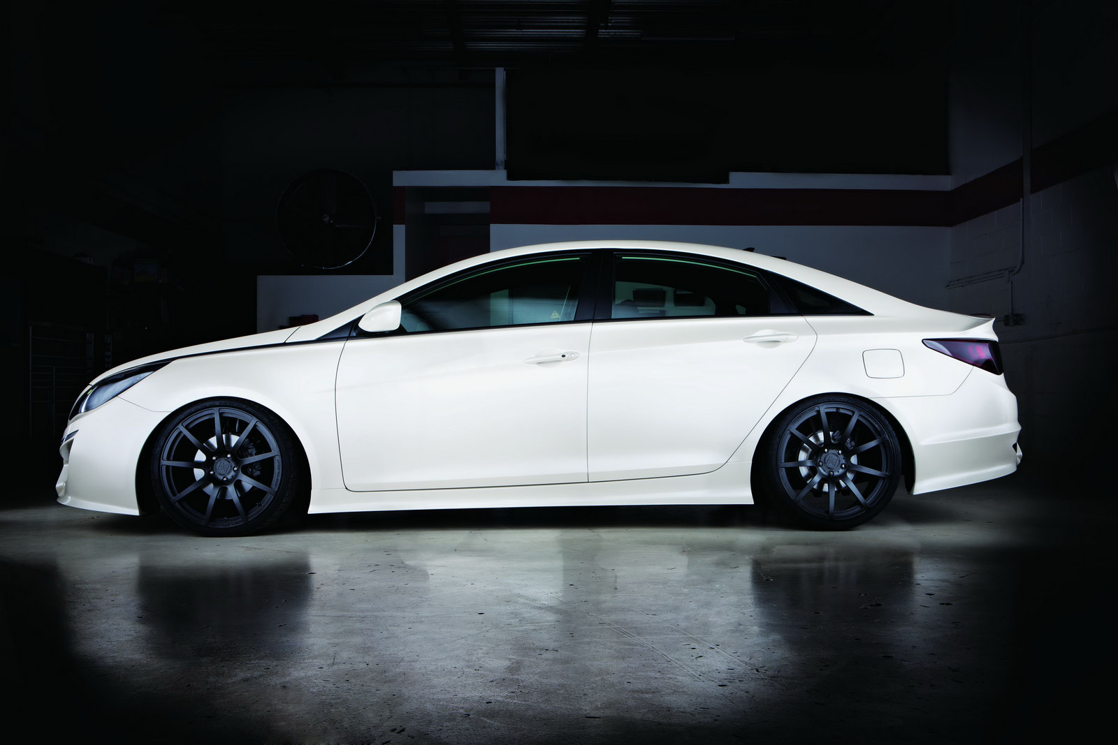 2010 Sema  Custom Hyundai Sonata Turbo By Rides And 0-60 Magazines