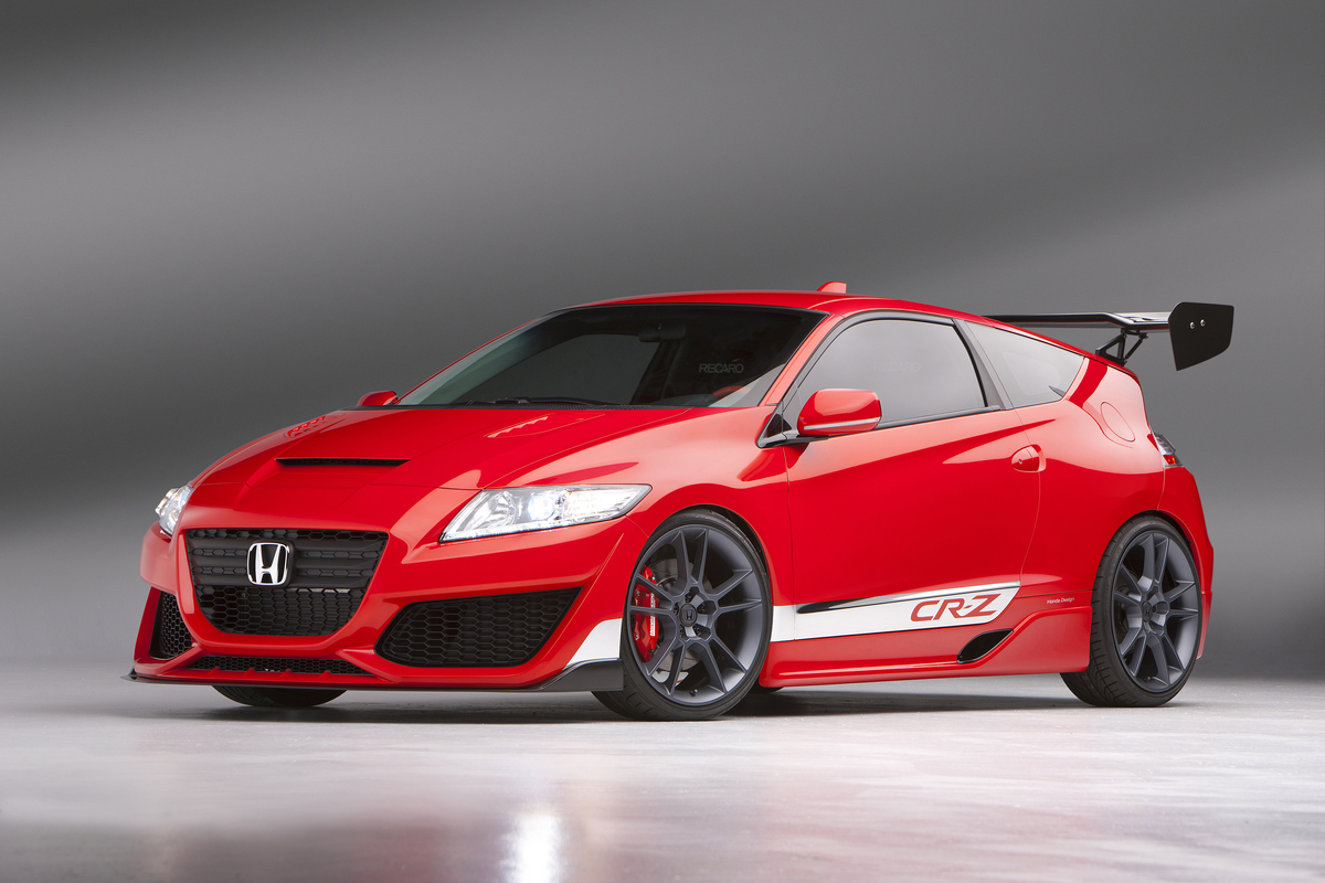 2010 sema honda cr z hybrid r autoevolution. Black Bedroom Furniture Sets. Home Design Ideas