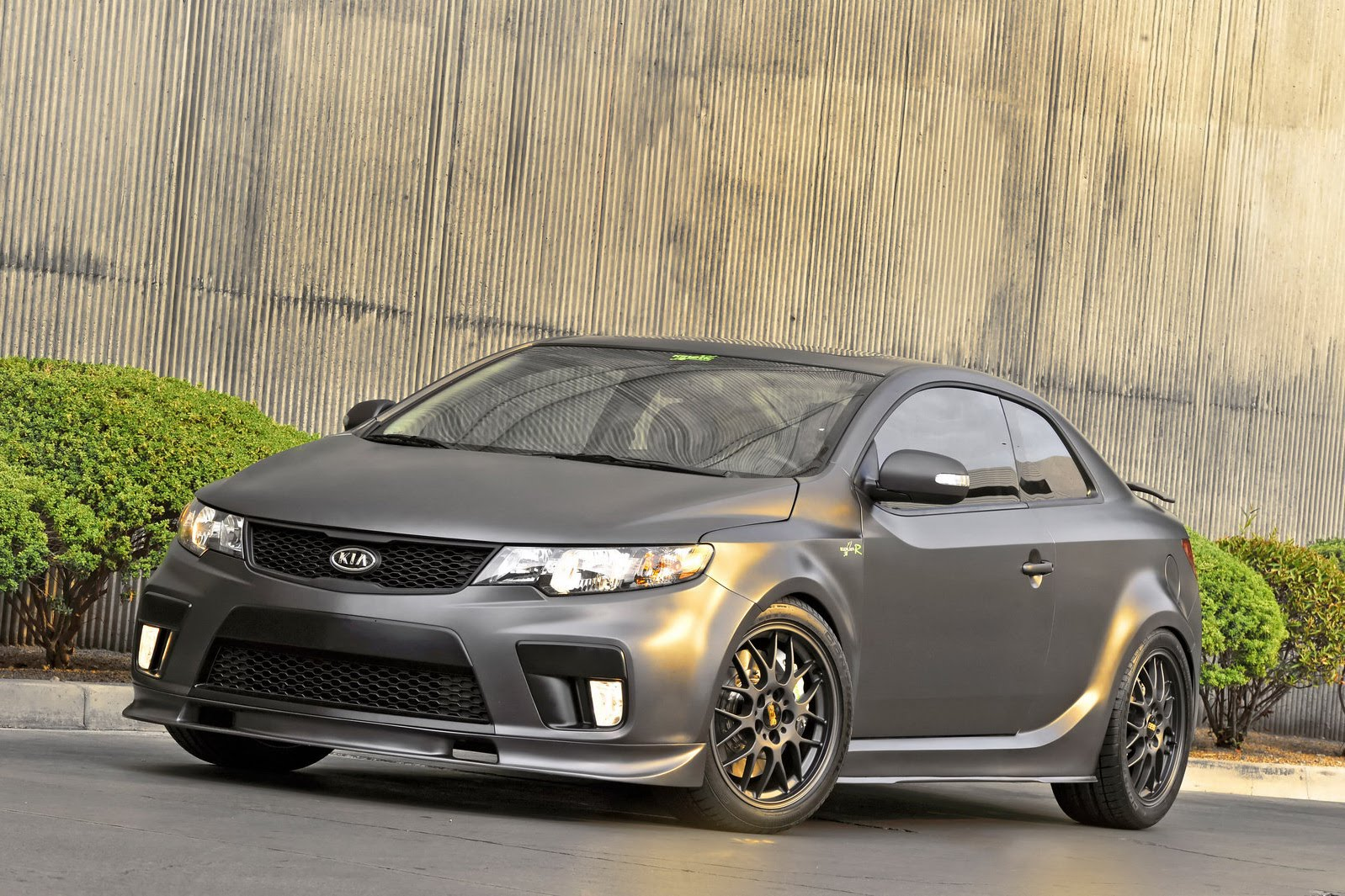 2010 sema kia forte koup type r autoevolution. Black Bedroom Furniture Sets. Home Design Ideas