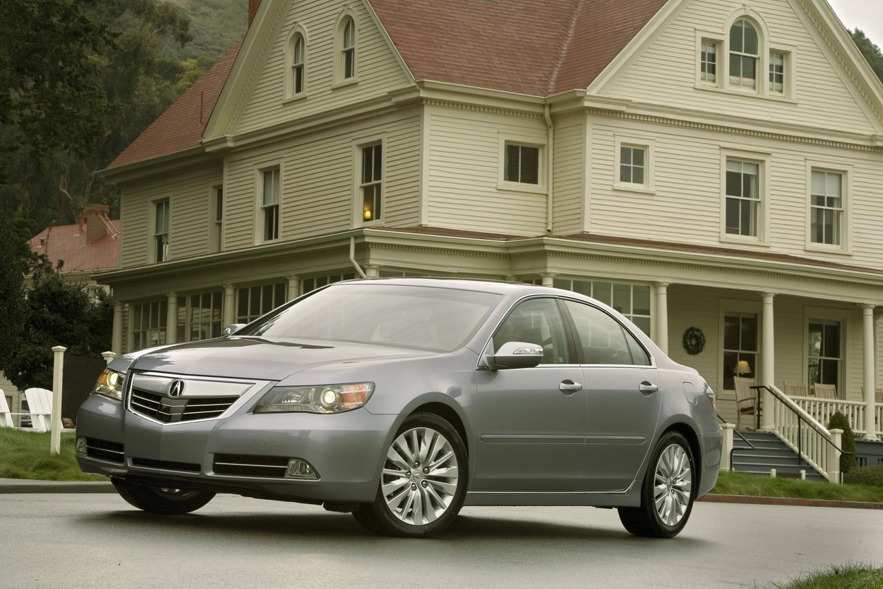 2011 Acura RL Facelift Revealed - autoevolution