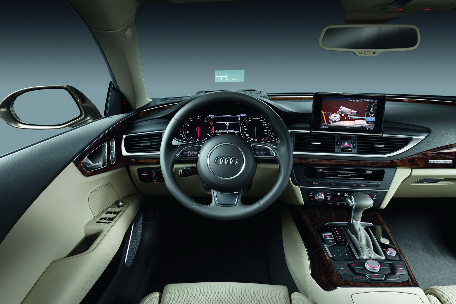 2011 Audi A7 Sportback Official Details And Photos