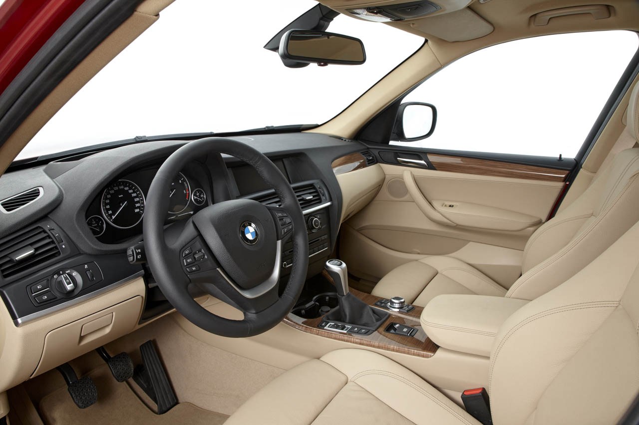 2011 bmw x3 interior photo