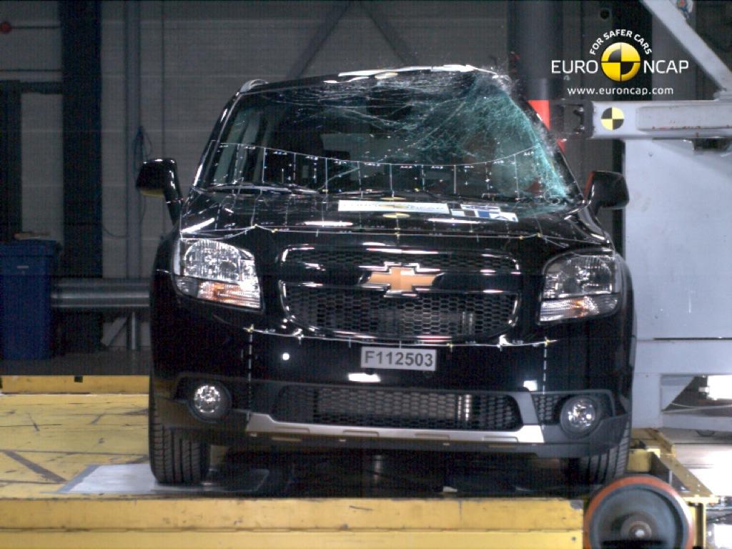5 Star Chevrolet >> 2011 Chevrolet Orlando Earns Five-Star Euro NCAP Rating - autoevolution