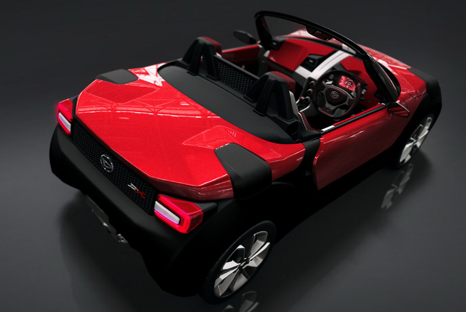 2011 Daihatsu D X Concept Is A Swiss Army Knife