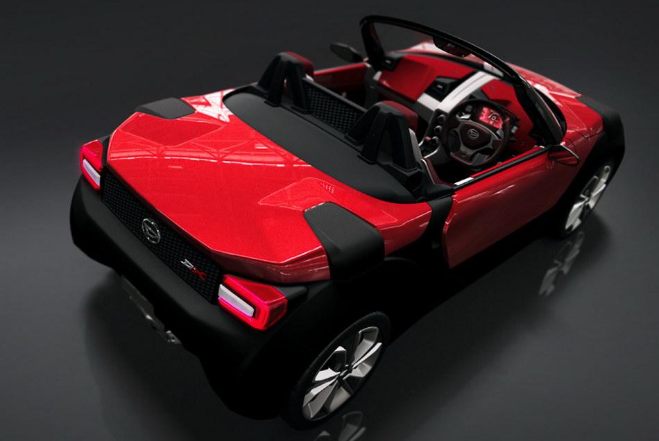 2011 Daihatsu D X Concept Is A Swiss Army Knife