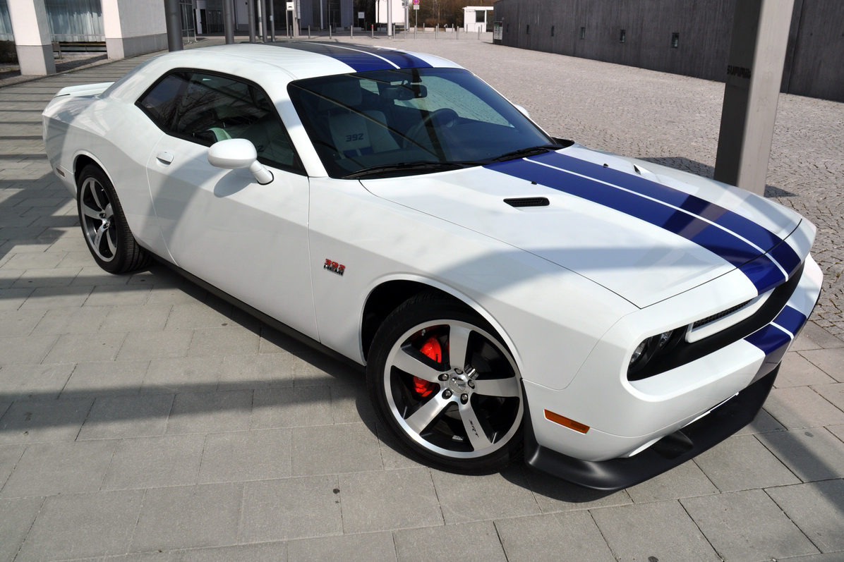 2011 dodge challenger srt8 392 inaugural edition arrives for Newspaper wallpaper for sale