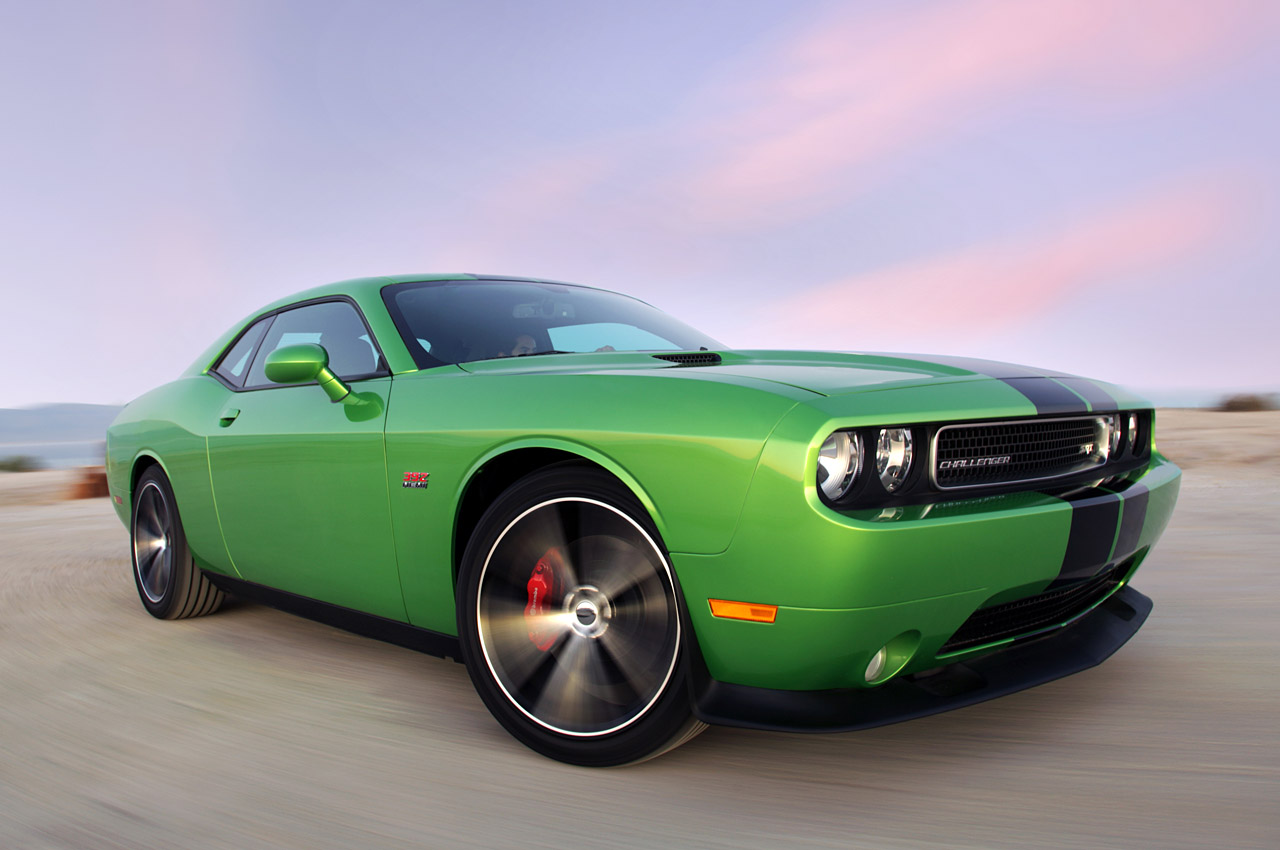 2011 Dodge Challenger Uses Green With Envy Coat For