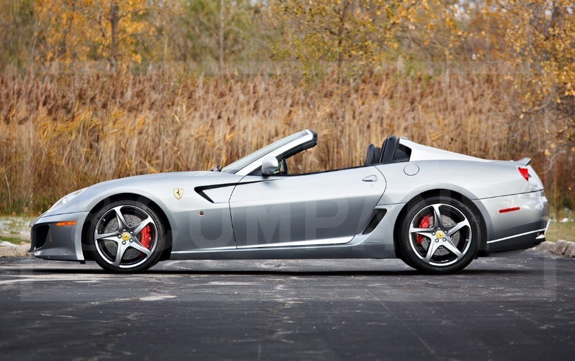 2011 Ferrari 599 Sa Aperta Pops Up For Sale Billionaires Wanted