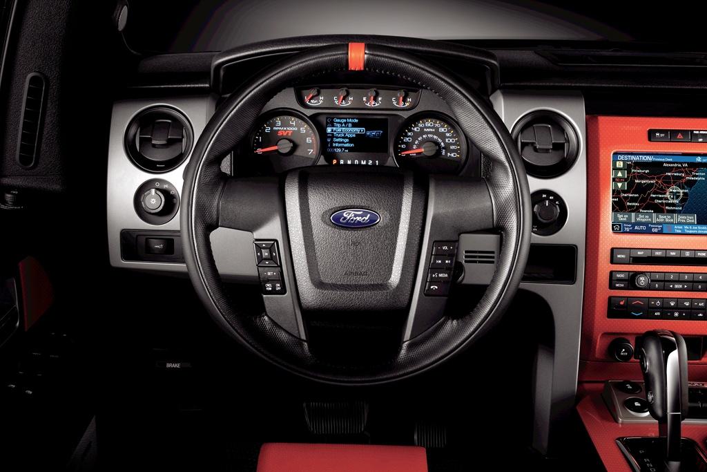 Ford F Svt Raptor Presented on 2010 Ford Raptor