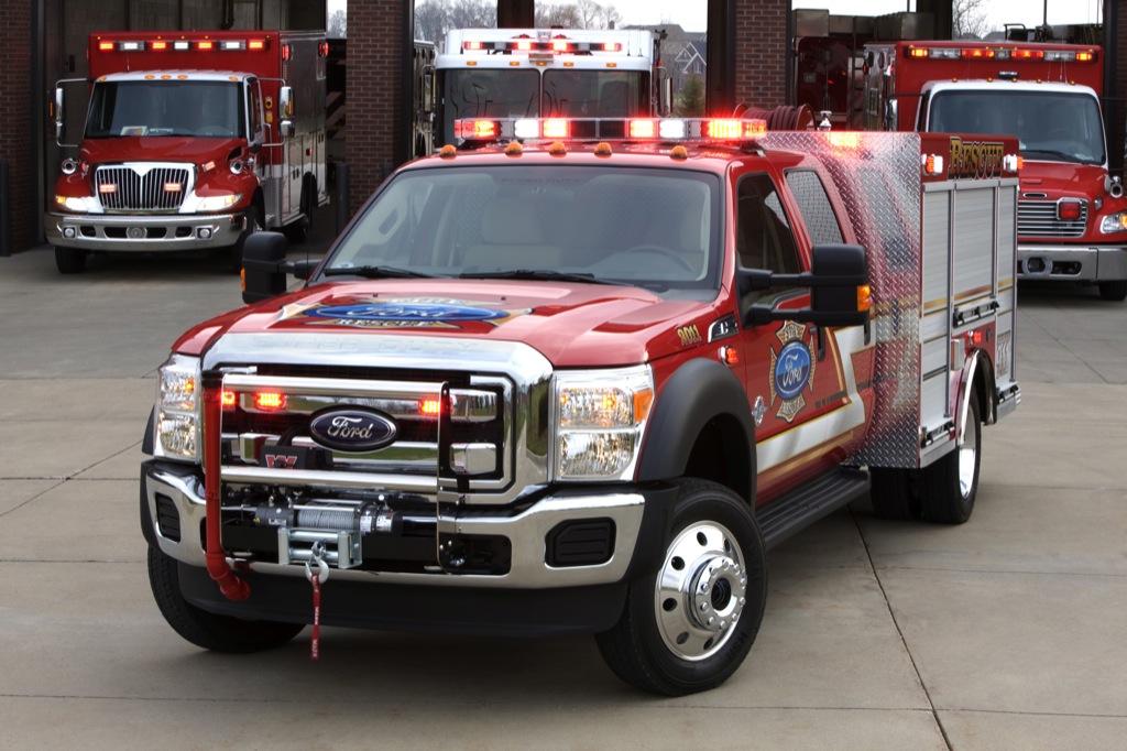 2011 Ford F-550 Super Duty Fire Truck in LA - autoevolution