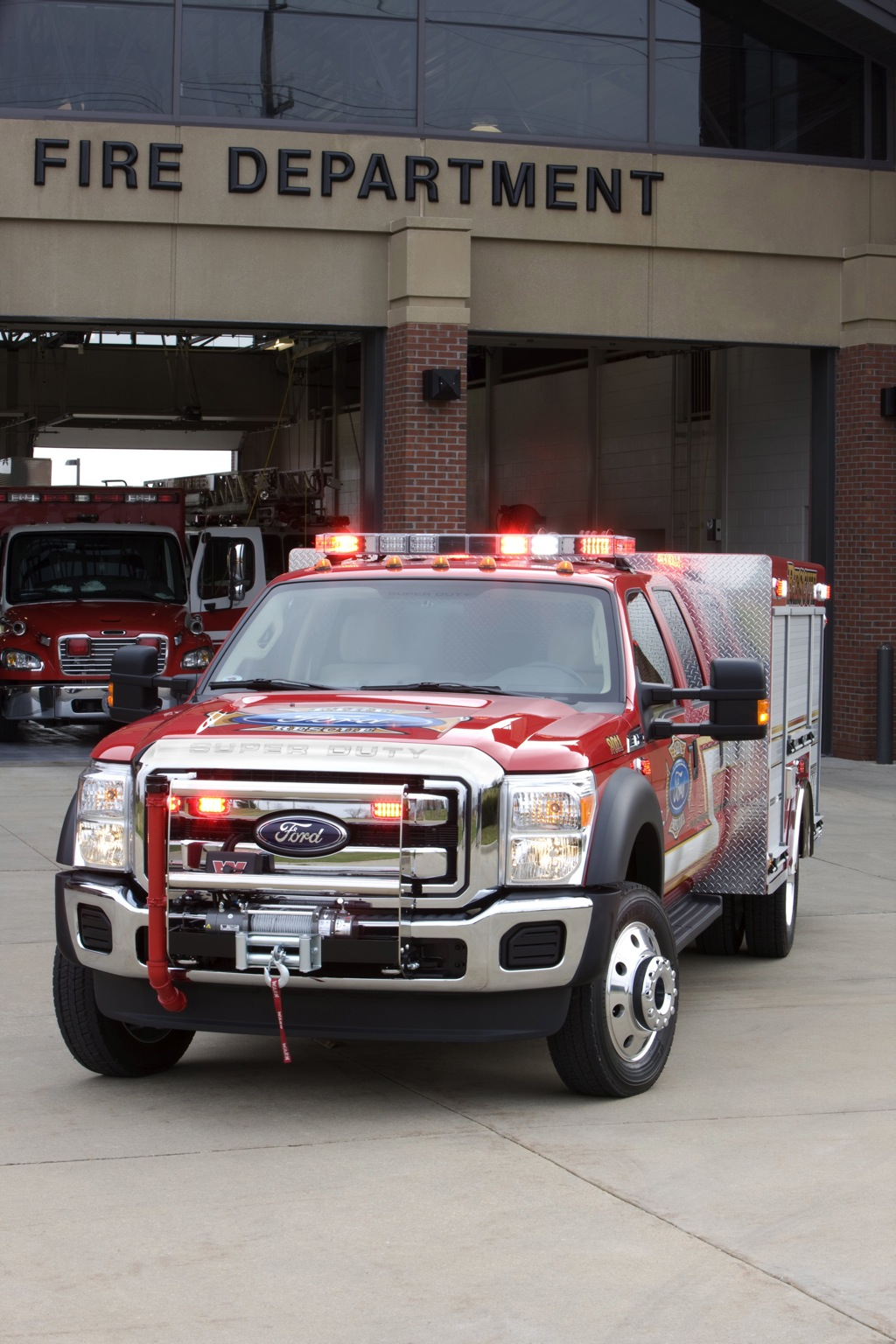 New Ford Truck >> 2011 Ford F-550 Super Duty Fire Truck in LA - autoevolution