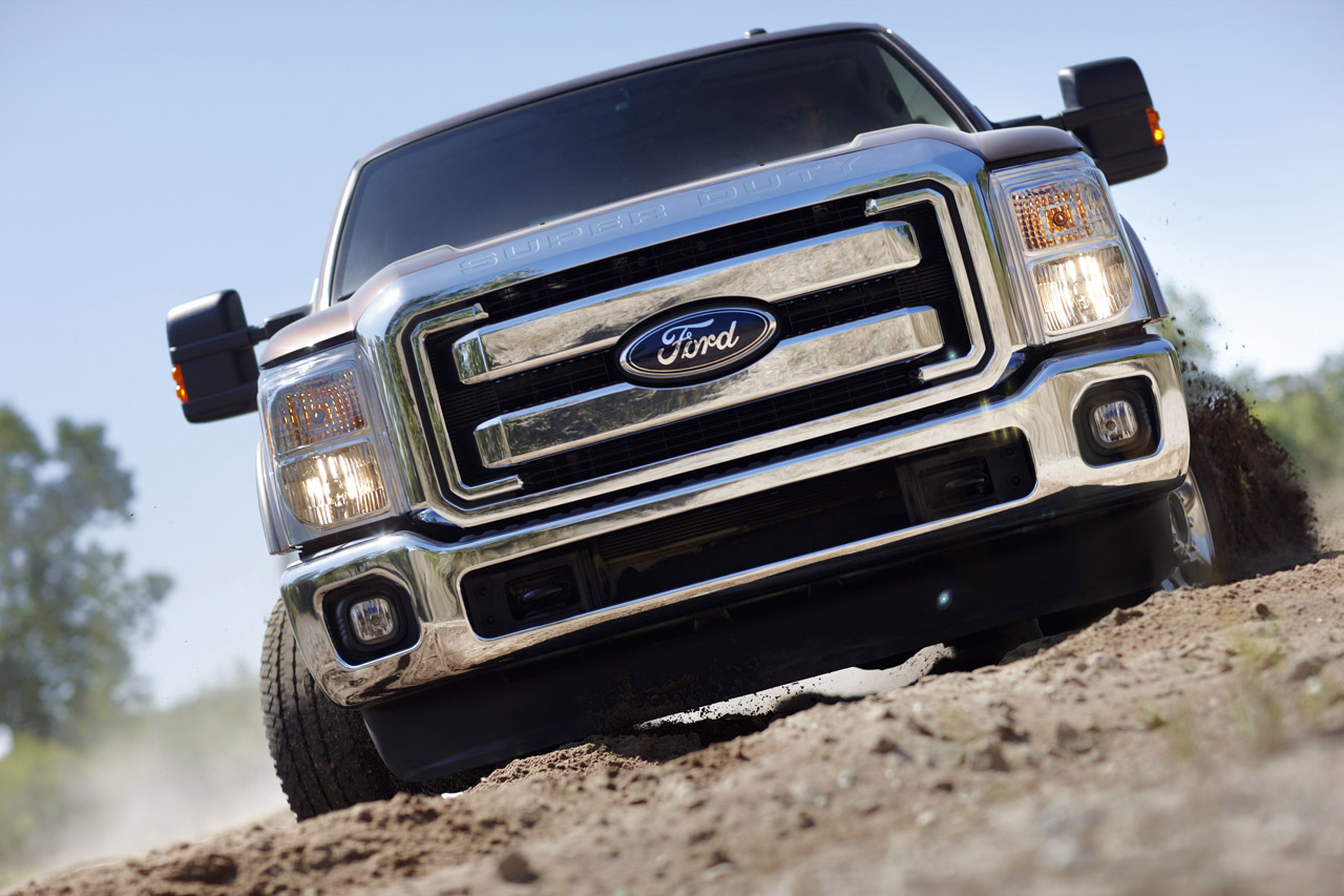 2011 ford super duty revealed autoevolution