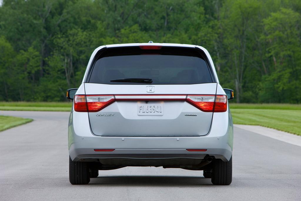 2011 Honda Odyssey Touring Elite Unveiled Autoevolution