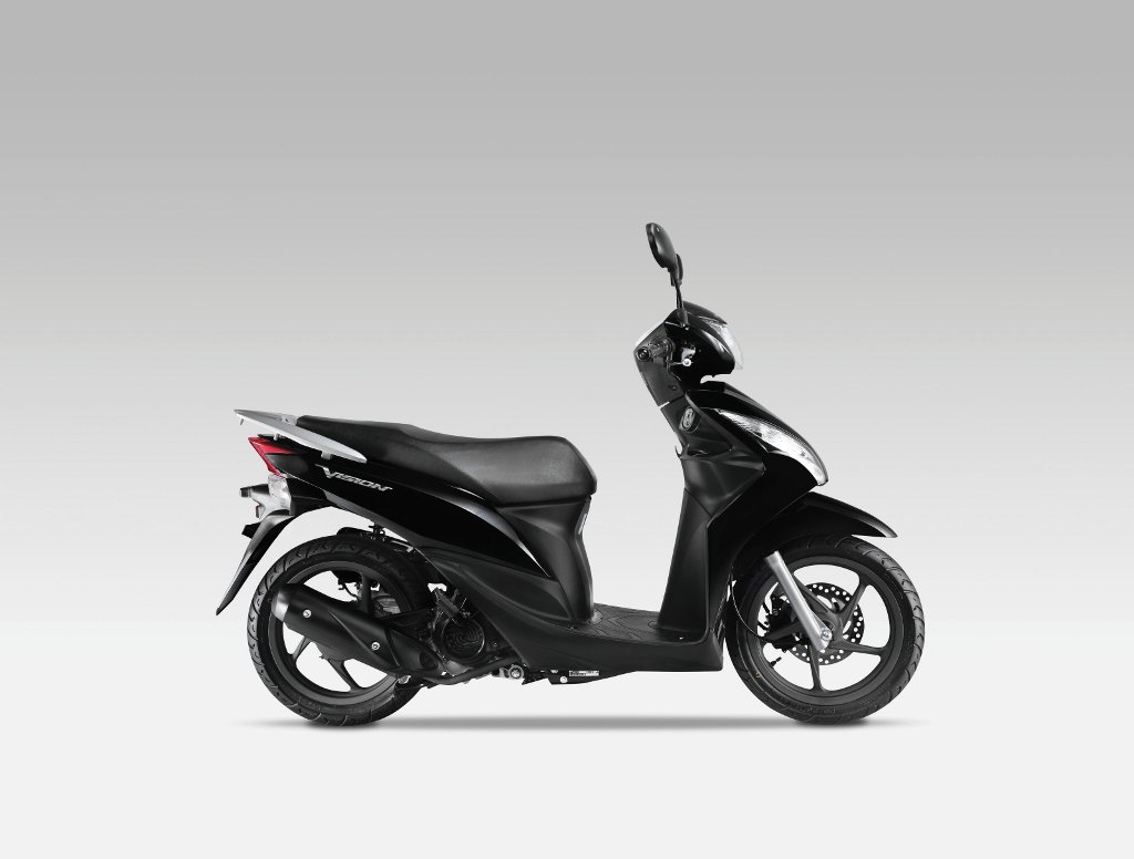 2011 honda vision 110 scooter launched gallery   autoevolution