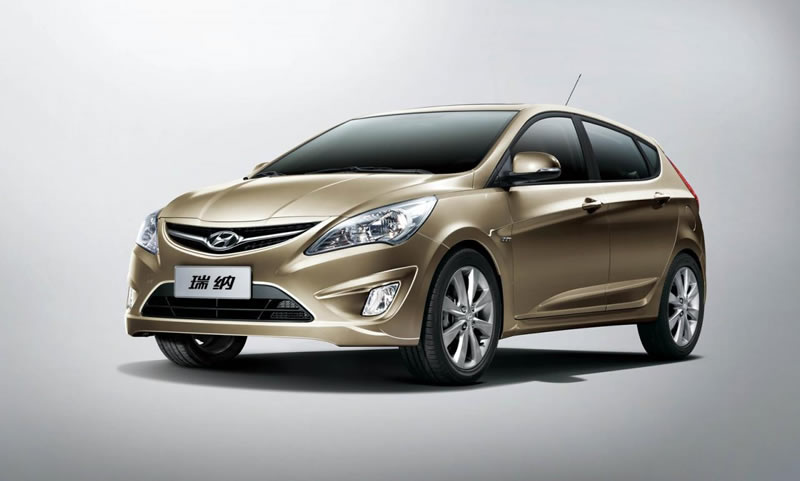 2011 Hyundai Accent Verna Hatchback Unveiled In China Autoevolution