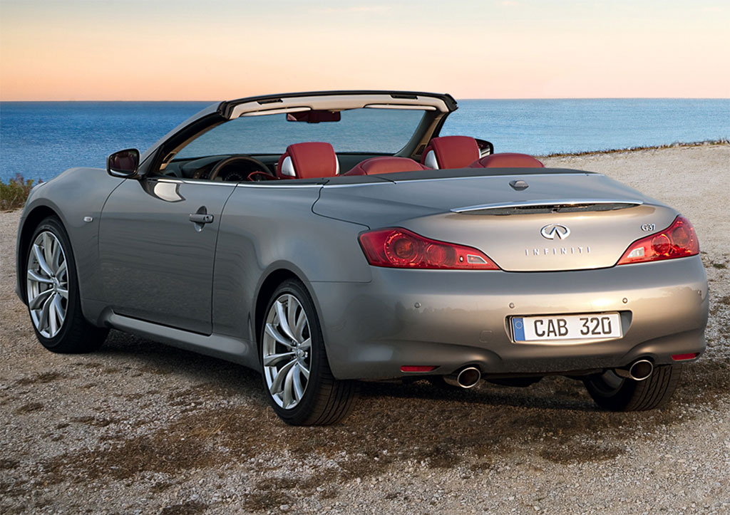 2011 infiniti g37 coupe and convertible pricing revealed 4 - 2011 Infiniti G37 Convertible
