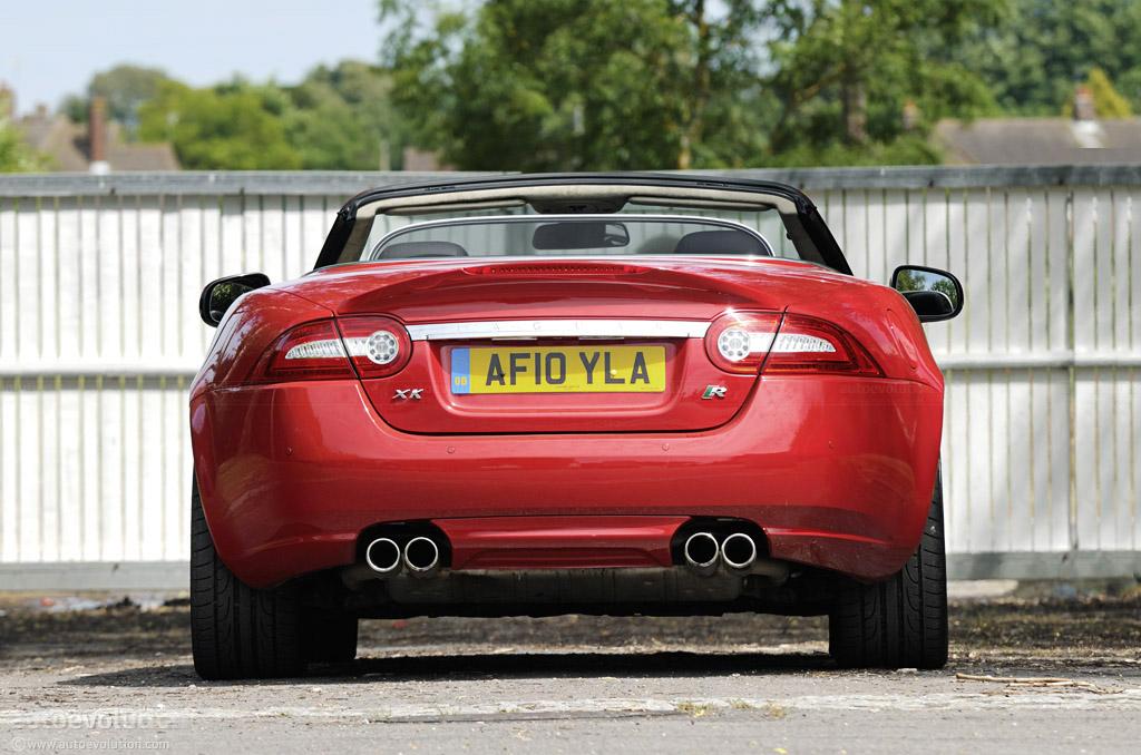 2011 Jaguar XK-R Convertible Short Review - autoevolution