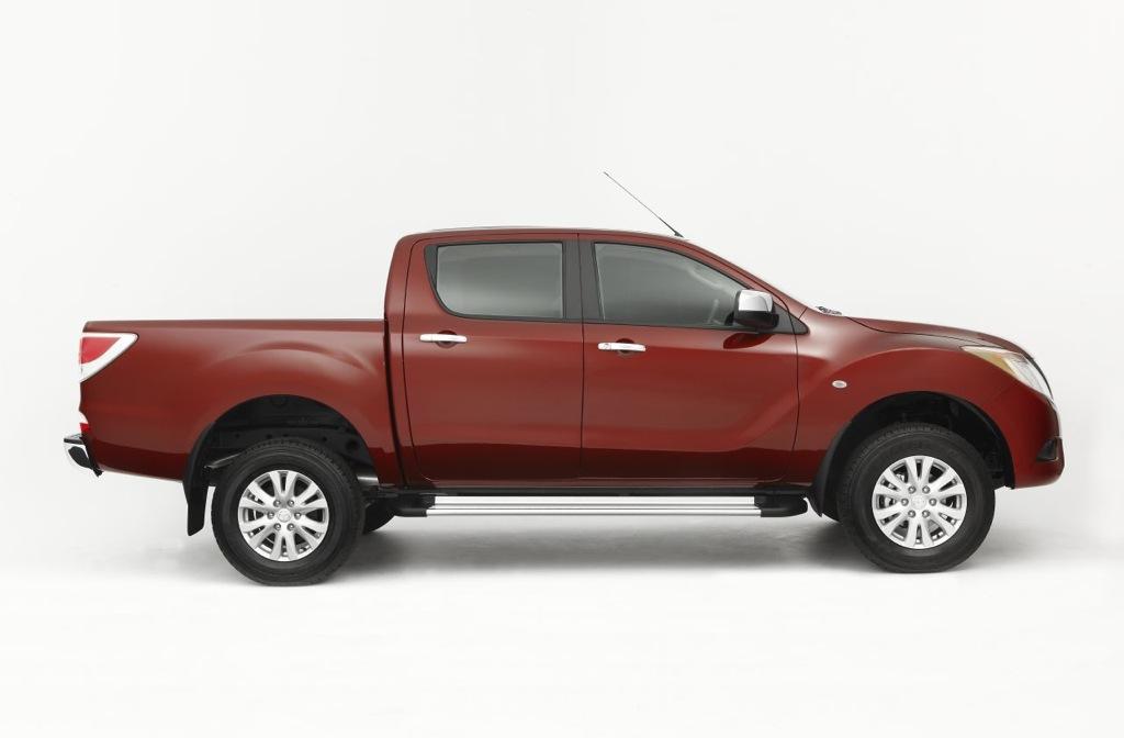 2011 Mazda BT-50 Pick-Up Truck Revealed - autoevolution