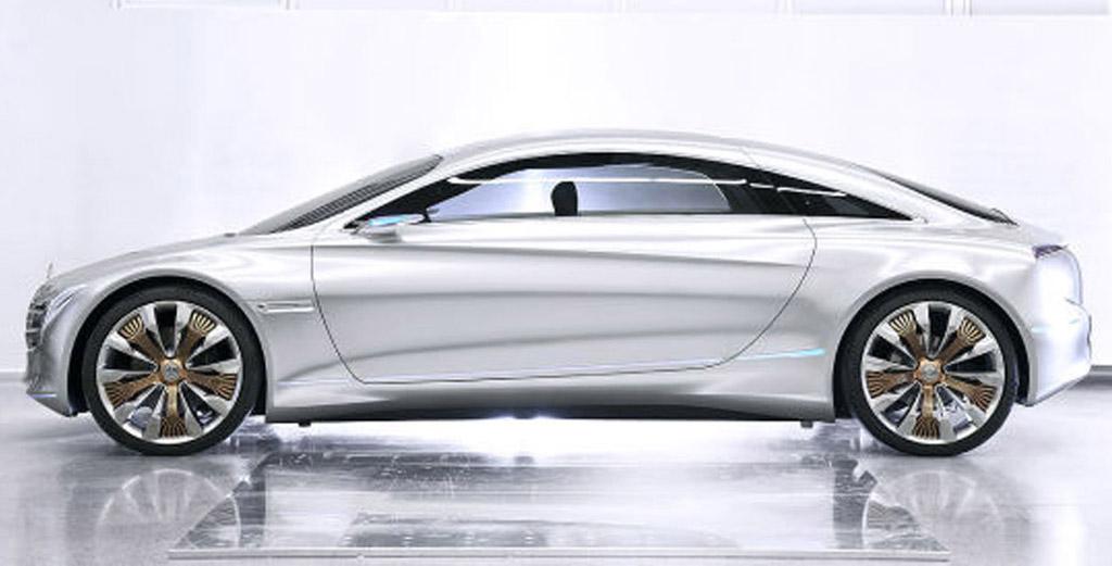 Mercedes benz f125 hydrogen vehicle