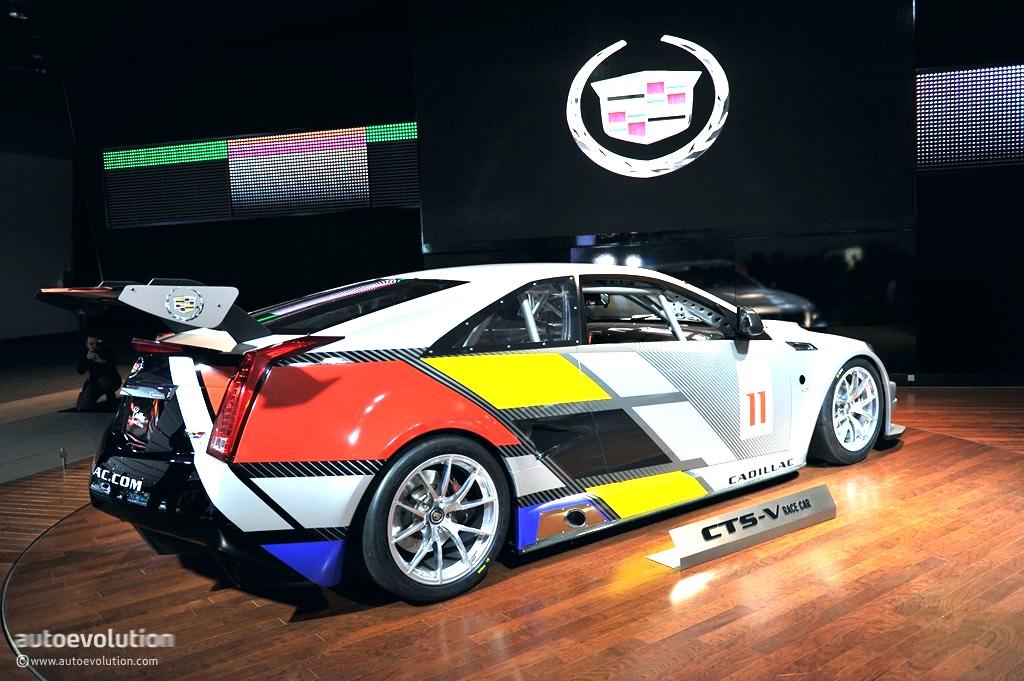 2011 NAIAS: Cadillac CTS-V Coupe Race Car [Live Photos ...