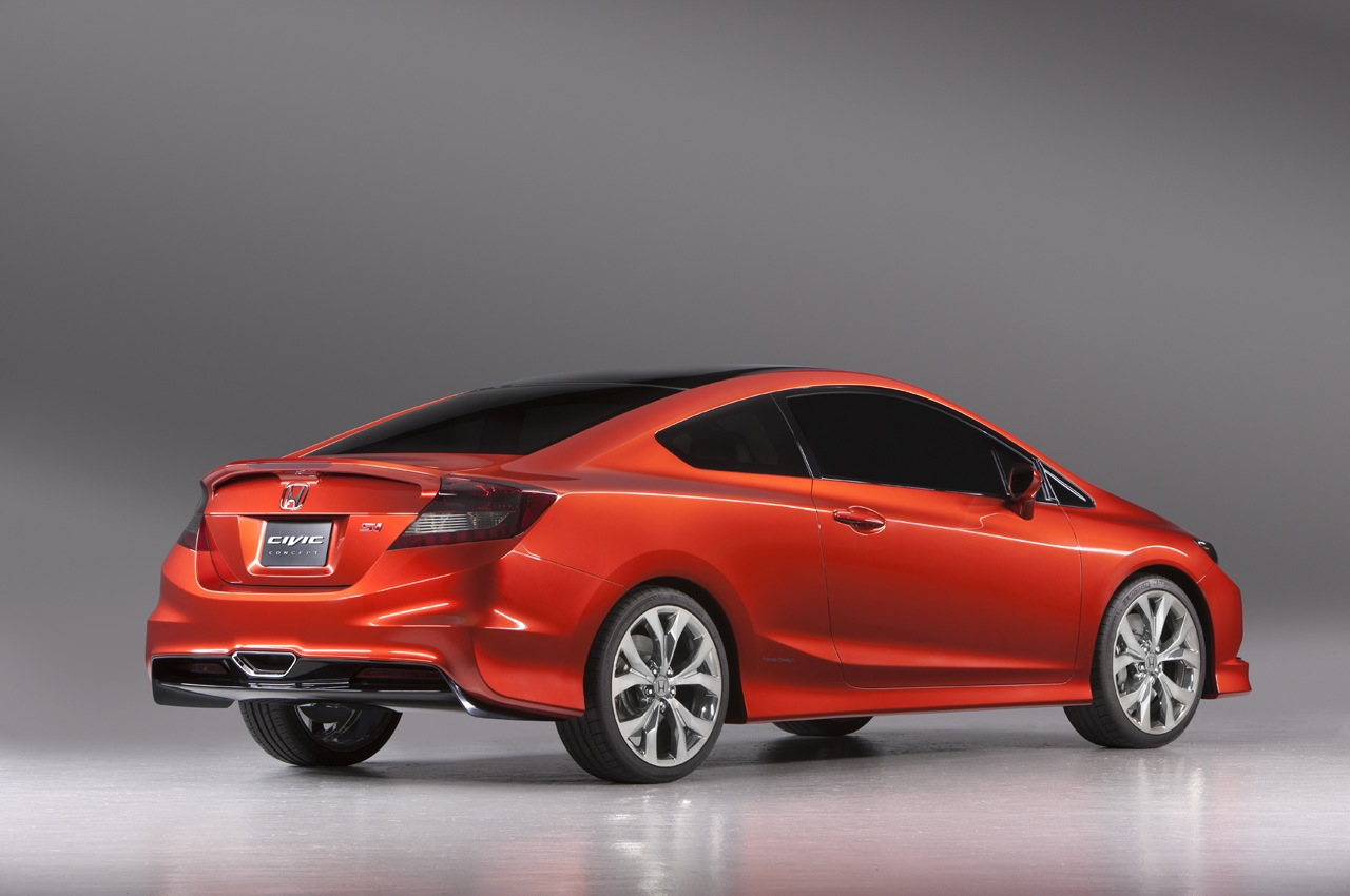 2011 NAIAS: Honda Civic Si Coupe Concept [Live Photos ...