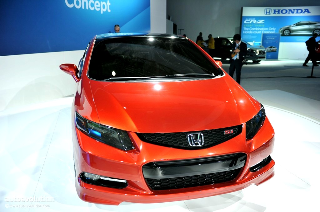 2011 Naias Honda Civic Si Coupe Concept Live Photos